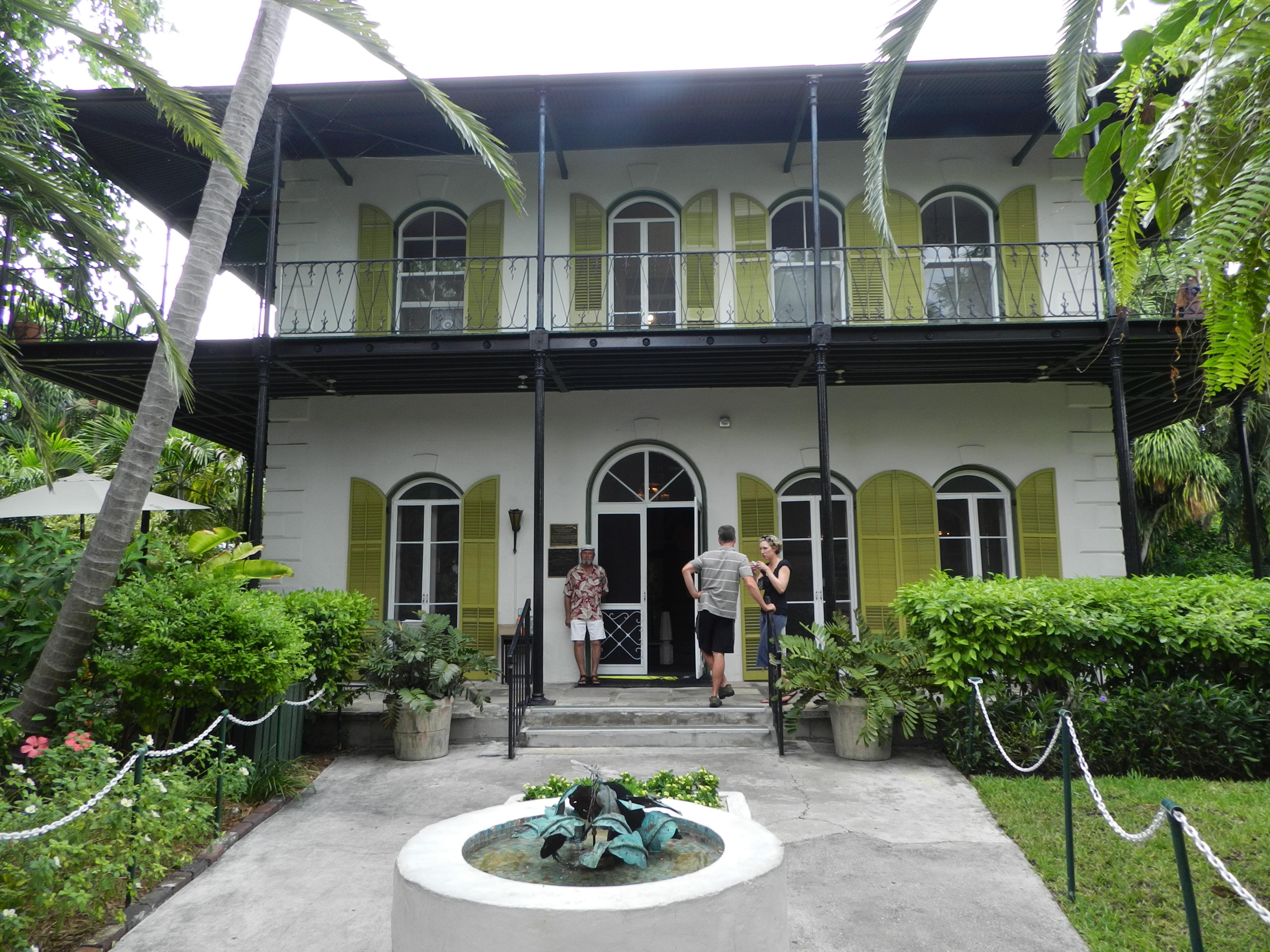 Ernest Hemingway House Monica 39 S Tangled Web