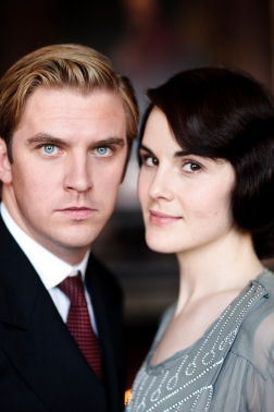 Matthew and Lady Mary. Engaged at last!
