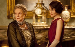 The Dowager and her granddaughter, Lady Mary.