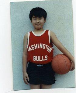 Wong at age 11.