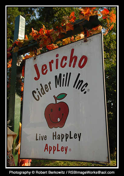 Jericho always had the best apple cider bar none.