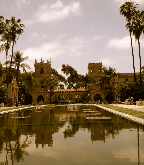 Strolled through Balboa Park, home of the 1915-16 Panama-California Exposition.