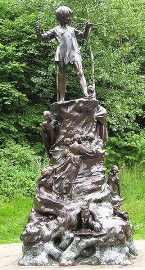 322px-PeterPan_Statue_Londres