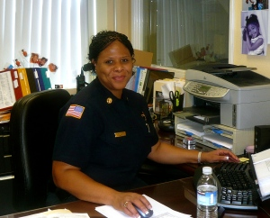 San Diego Deputy Chief Lorraine Hutchinson is a Susan G. Komen 2014 Honorary Breast Cancer Survivor.