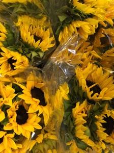 Sunflowers, too.