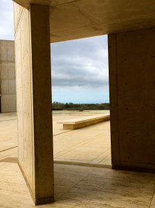 The Salk Institute has many angular walls. I love how this shot captures the feel of the place.