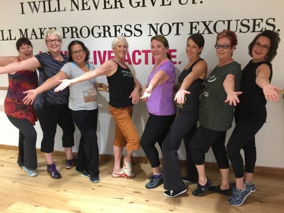 Elise's Soul Line-Dancing Class.